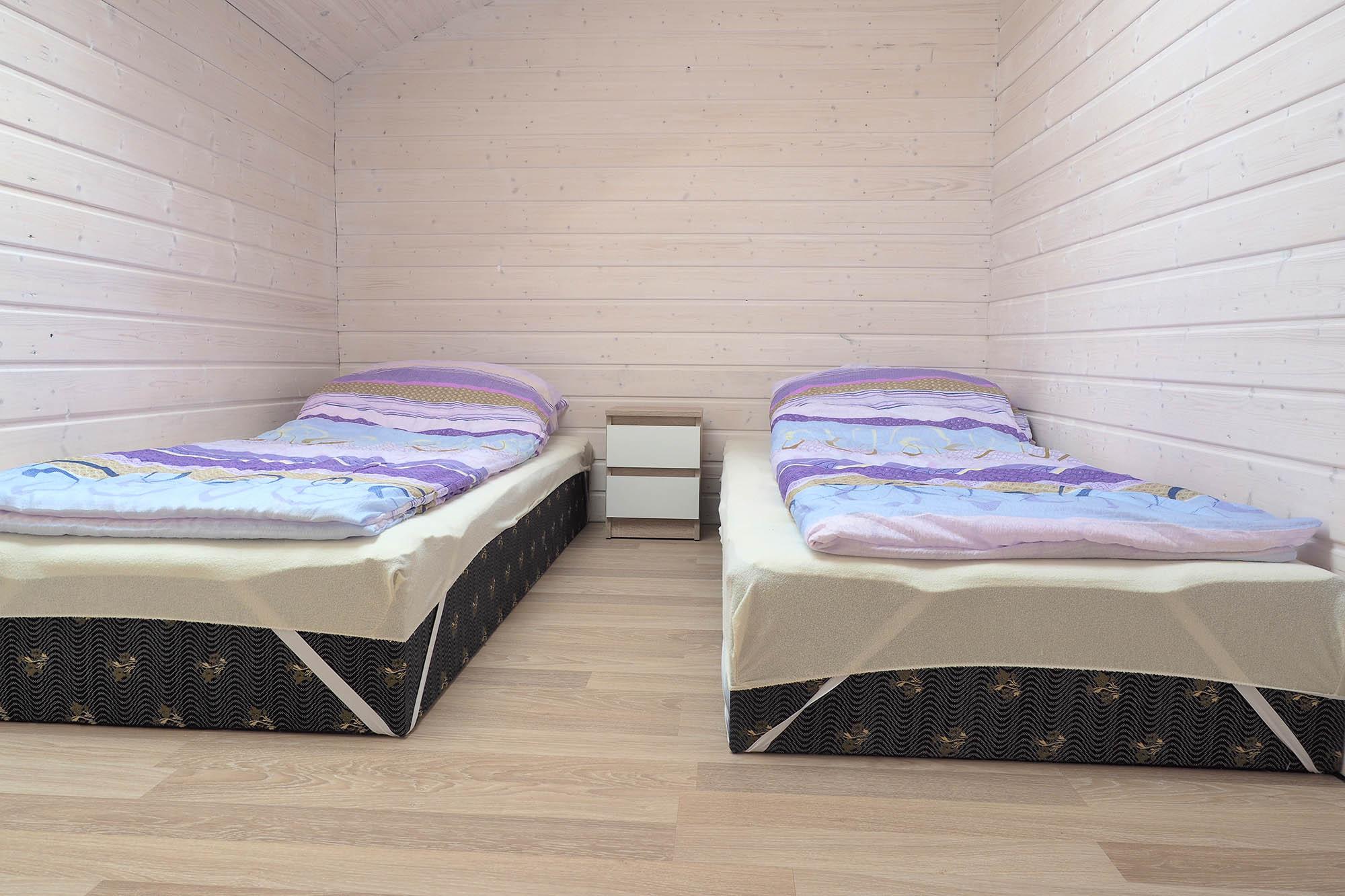 Domki Trebor - sypialnie